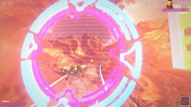 Neon Wings Air Race PC Descargar