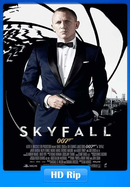 Skyfall 2012 720p BDRip Telugu Hindi Tamil Eng x264 | 480p 300MB | 100MB HEVC Poster