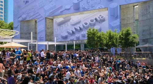 Apple spends $ 50 million annually on hosting WWDC