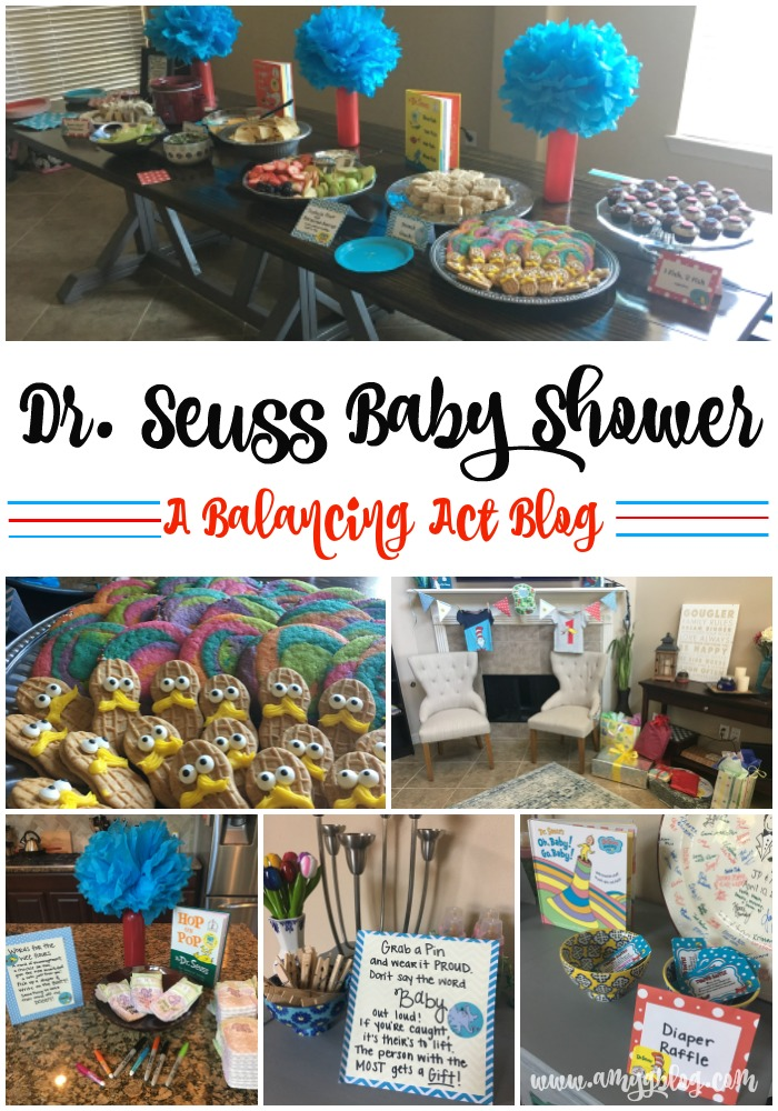 Oh Baby, the Places You'll Go! Details for a fun filled Dr. Seuss Baby Shower for the mom-to-be in your life!