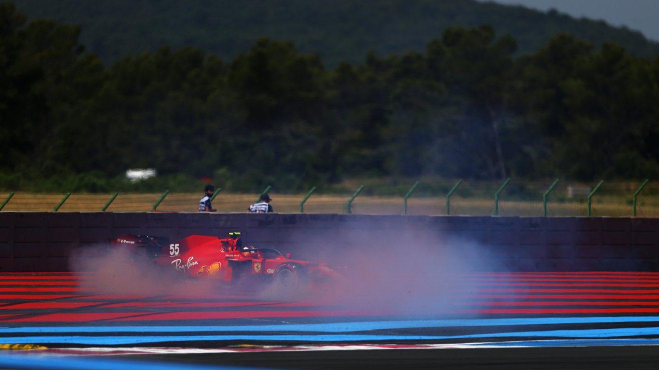 O que a equipe Ferrari disse - sexta-feira na França