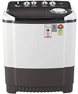 LG 8 kg 5 Star Semi-Automatic Top Loading Washing Machine