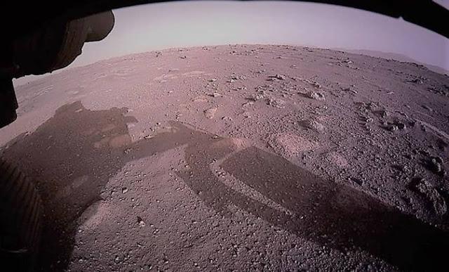 La NASA revela misterioso audio grabado por Perseverance en Marte