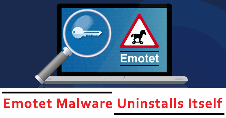 Emotet Malware Uninstalls Itself From All The Infected Computers World Wide