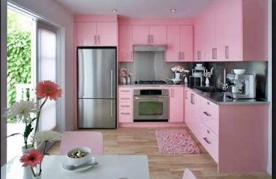 Desain Rumah Nuansa Pink Yang Cantik 8