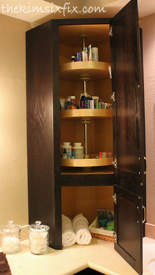 I also installed new sconces and relocated the can lights ... on Corner Sconce Shelf Cabinet id=82788