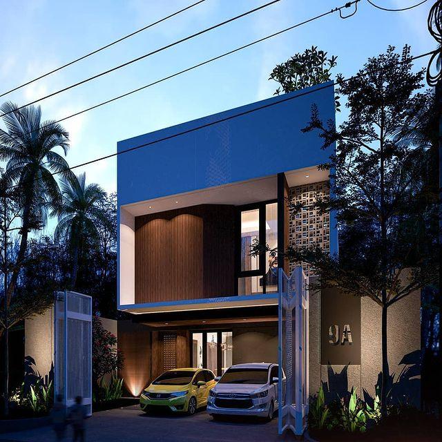 desain rumah dan toko