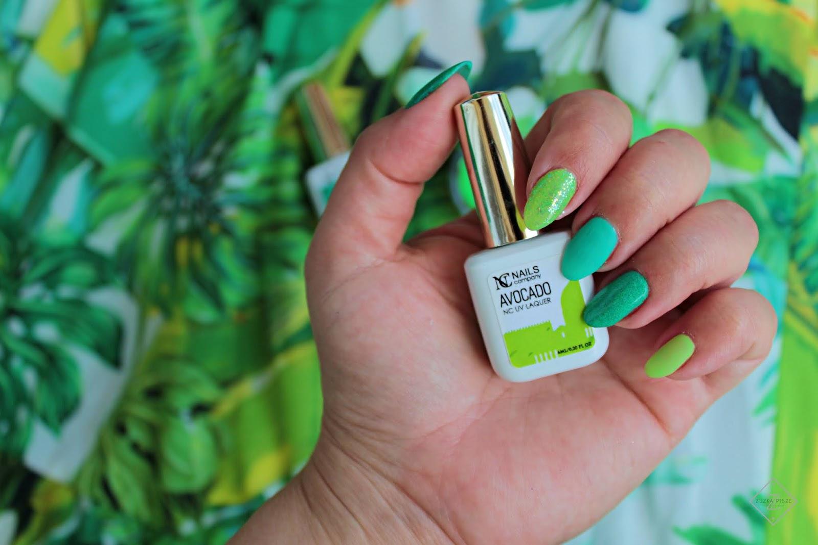 Lakier hybrydowy NC Nails Company AVOCADO