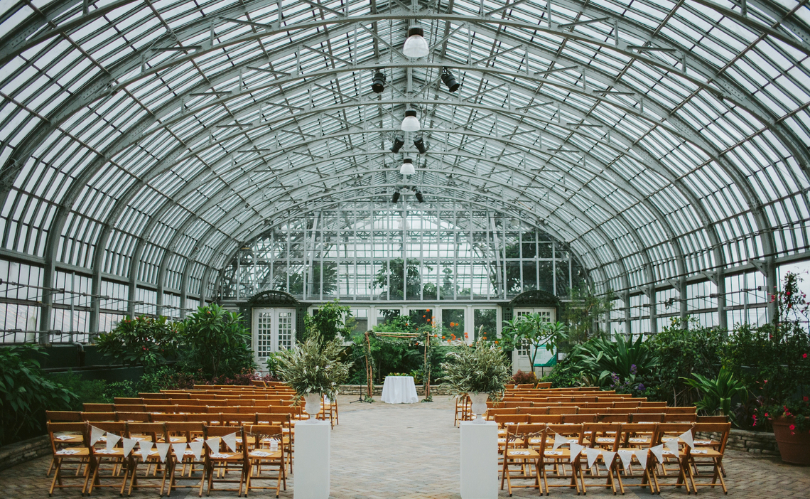 Garfield Park Conservatory Wedding Venues