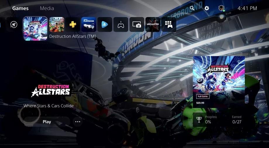 Sony ofrece una mirada en profundidad a la interfaz de usuario de PlayStation 5 en un nuevo video