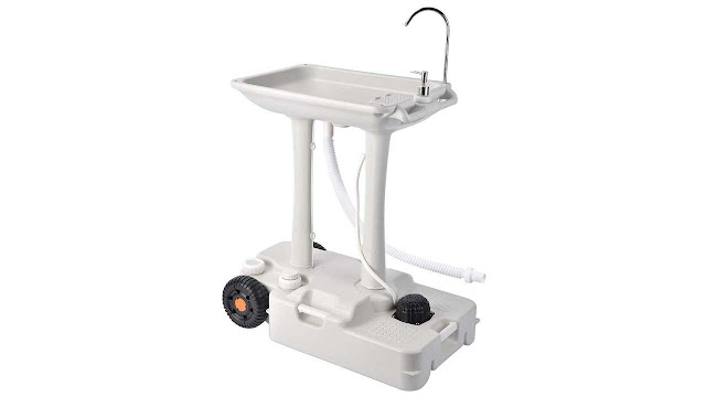 Yescom 17L/30L Portable Hand Wash Stand Camping Sink