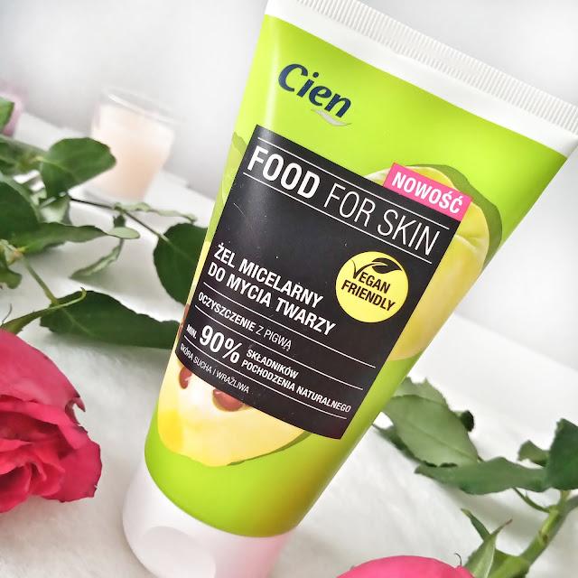 Cien Food for Skin Żel micelarny do mycia twarzy