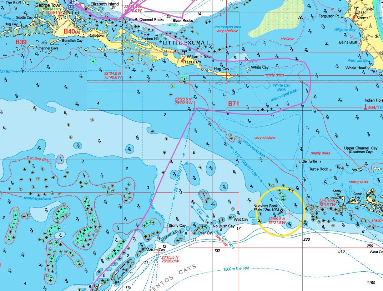 s v taipan  the bahamas is too shallow for deep draft