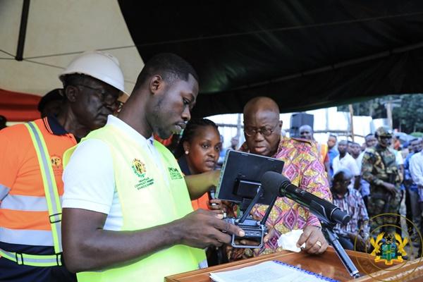 President Akufo-Addo Launches Community Mining Programme