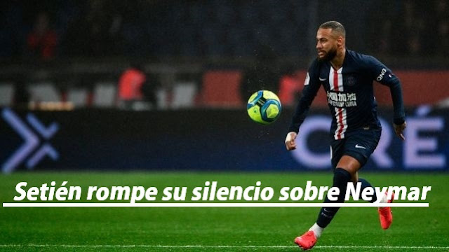 Quique Setién habla sobre el fichaje de Neymar