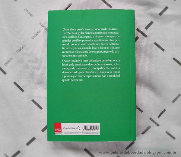 Resenha, livro, Quase-verdade, Jennifer-Kaufman, Karen-Mack, casa-da-palavra, dislexia, mentira, capa, trechos, opinião, sinopse