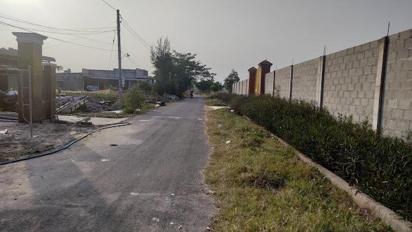 Cần bán 1845m2 đất Hồ Tràm , đoạn gần quảng trường Hồ Tràm