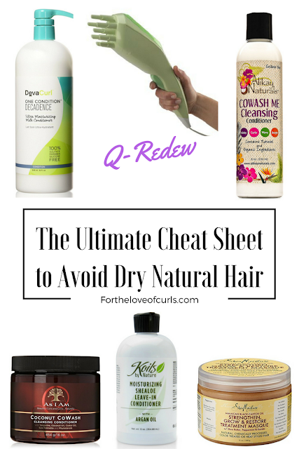 Products to stop dry natural hair