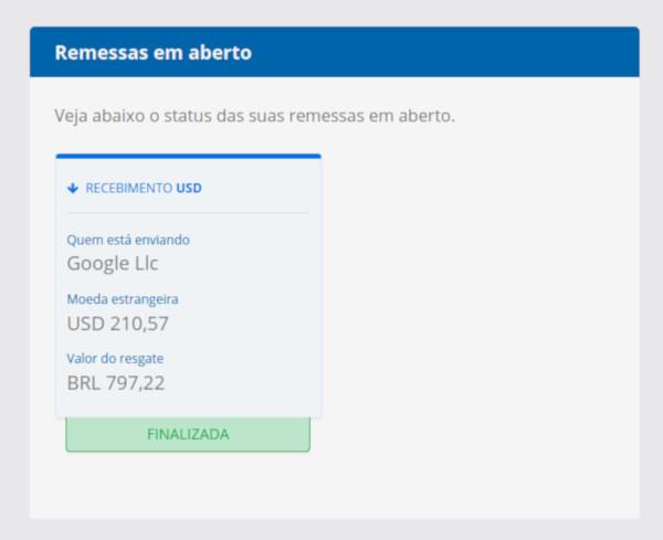 Pagamento Google Adsense Remessa Online