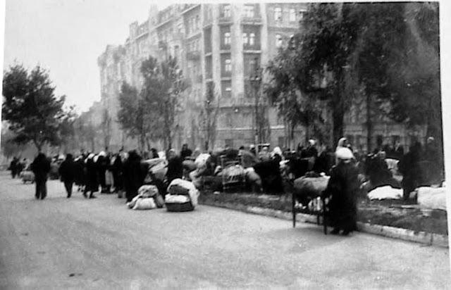 Київ, 1941. Погорельці