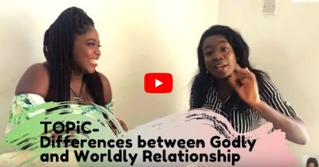 Moment with Kike: Differences between Godly and Worldly Relationship
