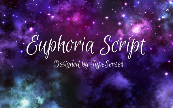 Download Kumpulan 30 Font Script Desainer grafis - Euphoria Script Font