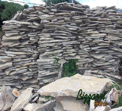 Pedra moledo para escada de pedra.