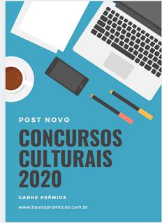 Concursos Culturais 2020