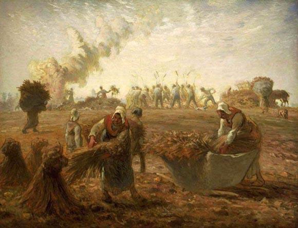Resultado de imagen de imagen de cosecha en la edad media