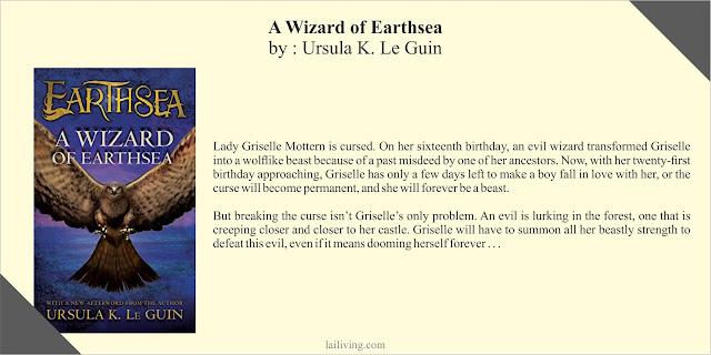 A Wizard of Earthsea Ursula K Le Guin