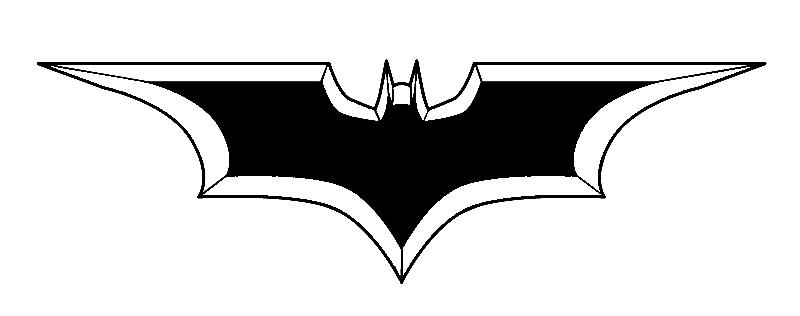 Zombie Bites: Tattoo: Batman Throwing Star