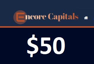 Encore Capitals $50 Forex No Deposit Bonus