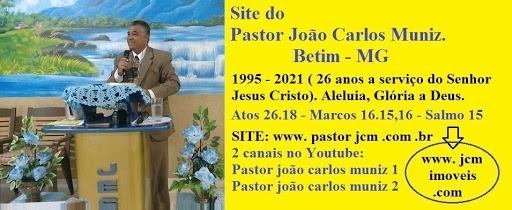 Site do Pastor João Carlos Muniz