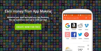 Cara Buat Aplikasi Android di AppsGeyser
