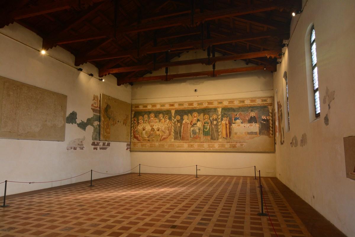 Réfectoire Abbaye de Pomposa