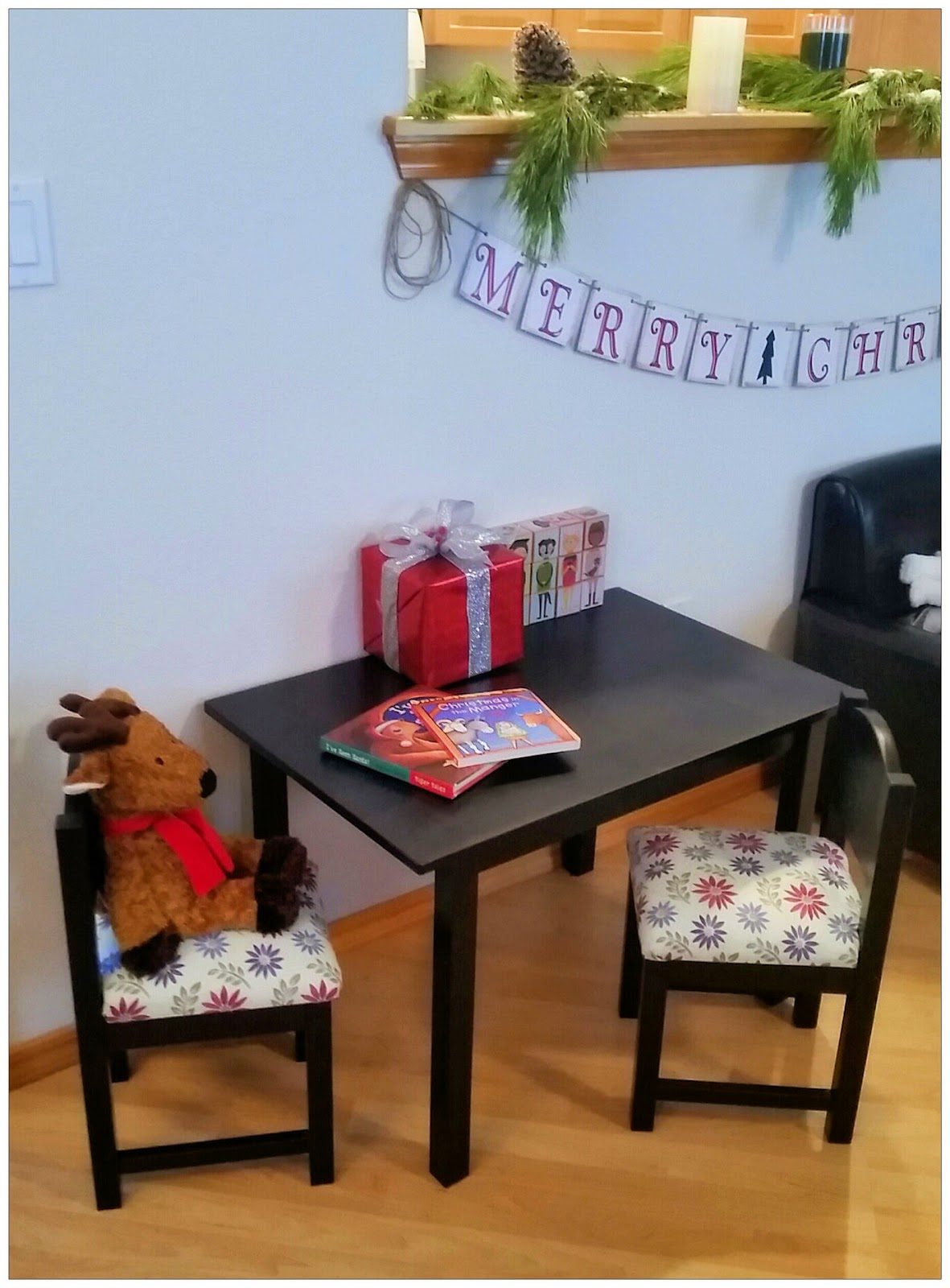 I purchased these table and chairs at Ikea for Baby J. I wanted to get heavy duty chairs that we would be able to sit on with her. & IKEA Kids Table and Chairs DIY u2013 The Heart Comes Home