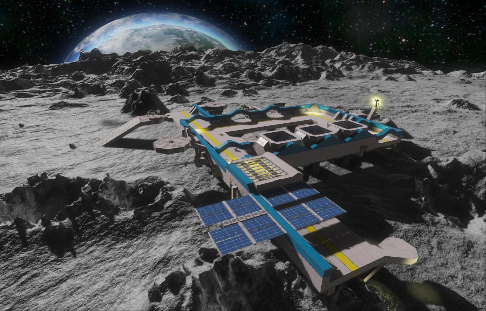 moon base space engineers - photo #4
