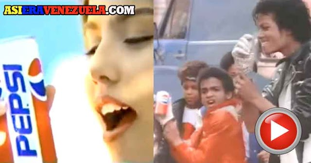 Los comerciales de televisión de PEPSI de los años 80 en Venezuela