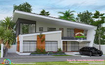 2732 Sq-ft Ultra Modern Contemporary Home - Kerala