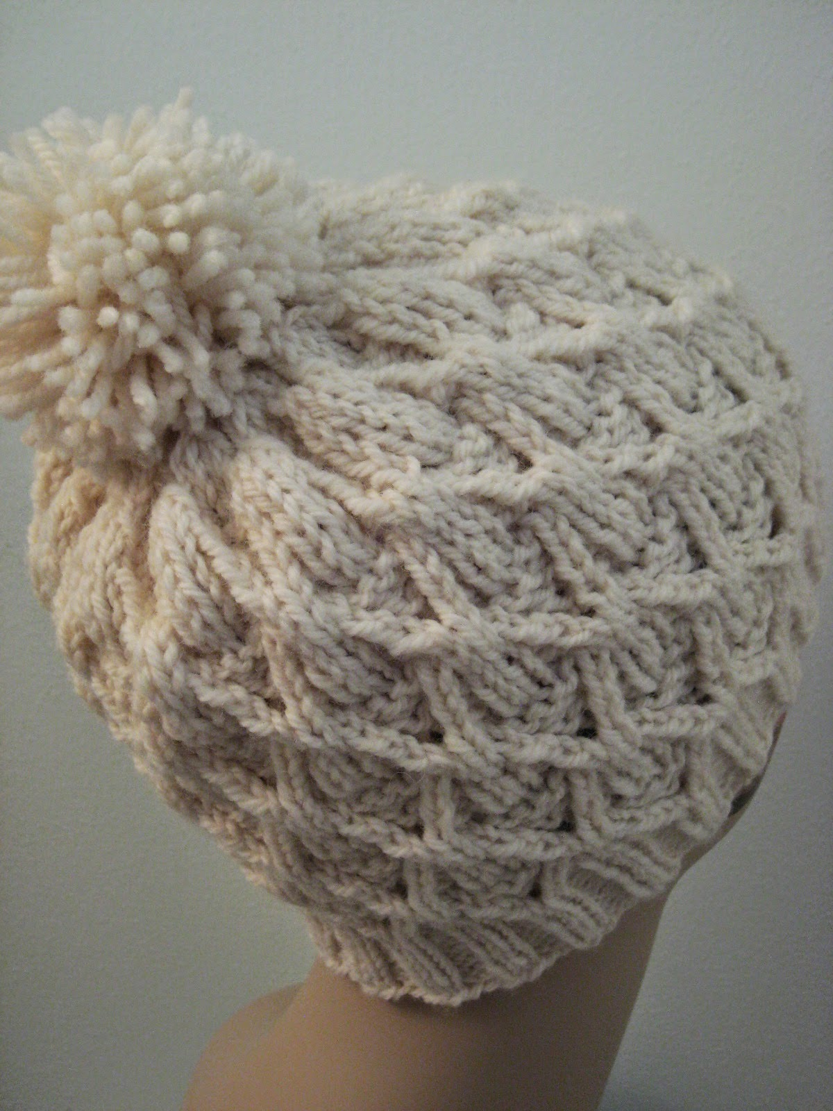 c4d3bc8e233 Balls to the Walls Knits  Wickerwork Hat