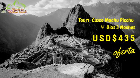 Machu Picchu 4 Dias 3 Noches Economico