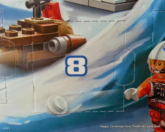 The LEGO Star Wars Advent Calendar December 8th revealed