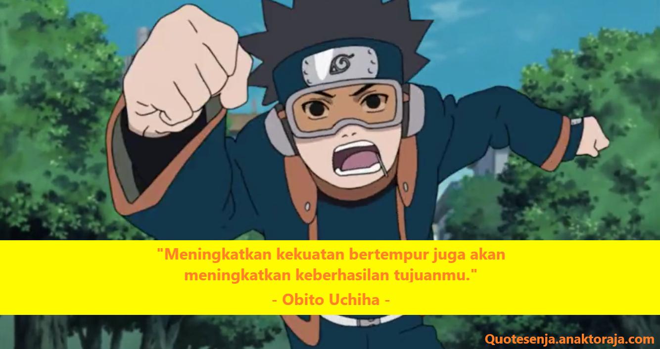 Gambar kata-kata mutiara Obito Uchiha