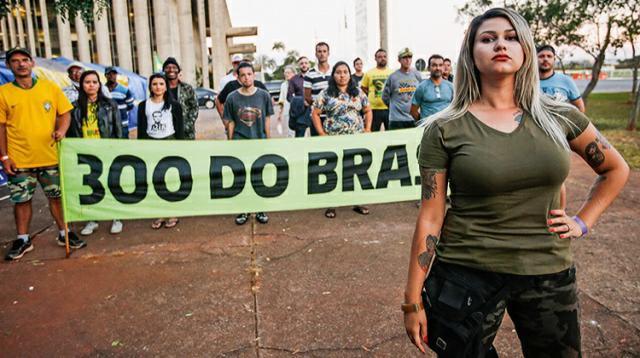 Moraes manda prender a bolsonarista Sara Winter