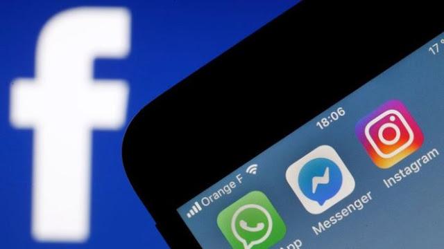 عاجل ، خلل جديد في الفيسبوك وإنستغرام والواتساب