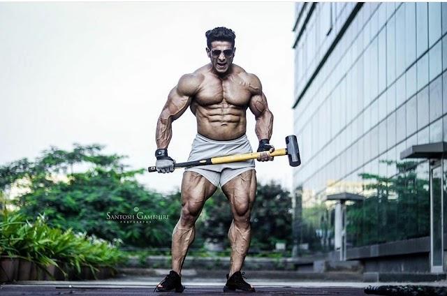 Suhas Khamkar - Workout Routine & Diet Plan | Beingfitaholic