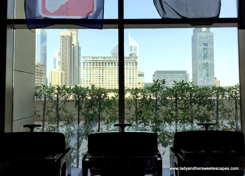buffet at Original Wings and Rings Dubai