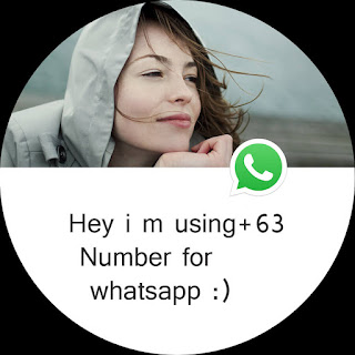 How to get free +63 Whatsapp number