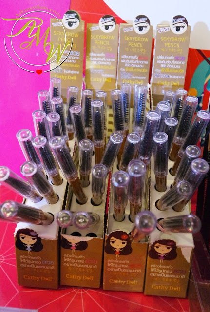 A photo of Cathy Doll Sexybrow Pencils