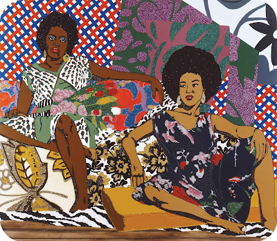A Moment Pleasure, Mickalene Thomas